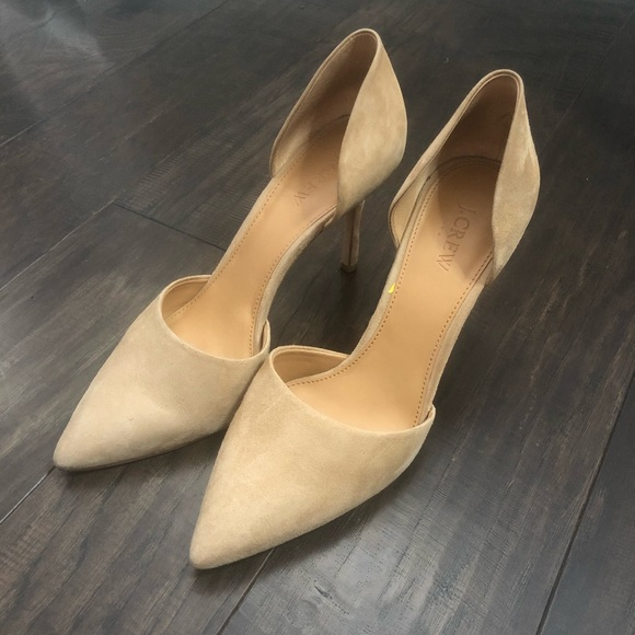 J. Crew Shoes - J. crew D'Orsay Suede Pumps